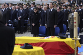 Funeral por los dos policías asesinados en Kabul
