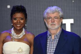 George Lucas y Mellody Hobson