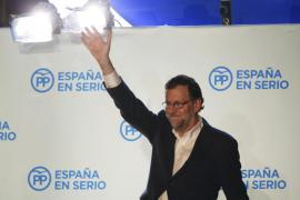 Mariano Rajoy afirma que ha ganado y que intentará formar Gobierno
