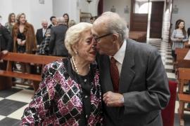 Manuel y María Ester, un nuevo «sí quiero» 75 años después