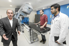 El hospital Can Misses ya ha realizado las dos primeras consultas de radioterapia