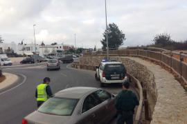 La USECIC de la Guardia Civil vuelve a Eivissa y despliega controles en las «zonas calientes»