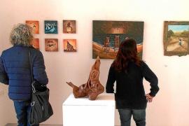 Nueve artistas exponen en la Col-lectiva de Nadal de Formentera
