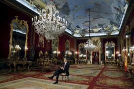 El Rey, en el Palacio Real para destacar la «grandeza» de España