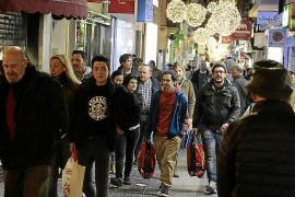 El aumento de ventas del comercio balear en noviembre es el más alto de la última década