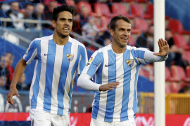 Un gol de Duda dispara al Málaga