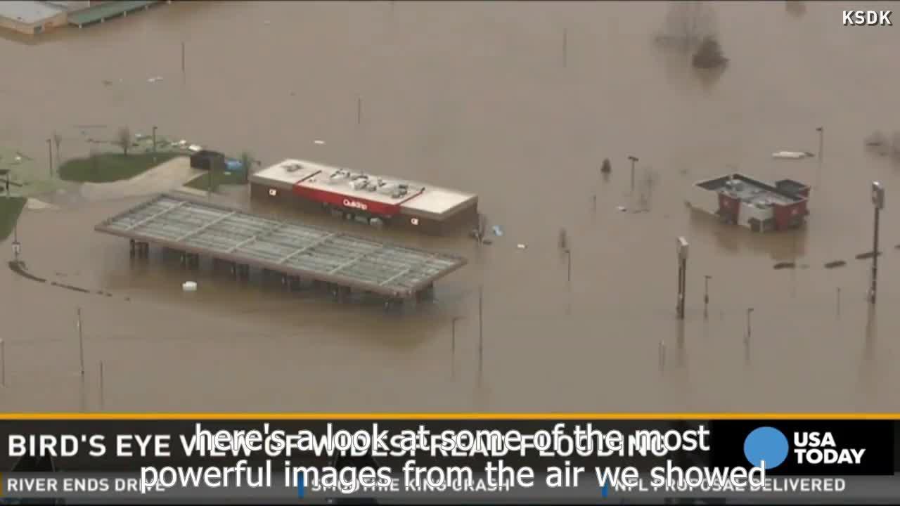 Las inundaciones causan 22 muertos y amenazan a millones de personas en EEUU