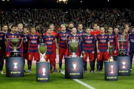El Barça cierra con una victoria un año de ensueño