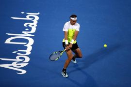 Nadal, a la final de Abu Dabi tras derrotar a David Ferrer