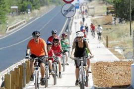 El Consell pondrá en marcha una red de carril bici que empezará por unir Jesús y Vila