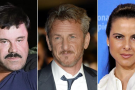 Una entrevista de Sean Penn al 'Chapo' ayudó a dar con su paradero