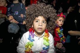 Diversión hippie para niños