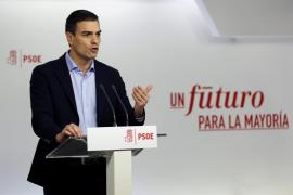 Sánchez tratará de formar gobierno con Podemos y C's
