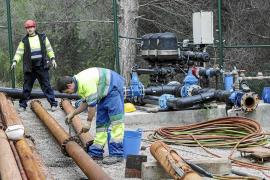Sant Josep apremia al Govern por las obras hidráulicas tras una nueva avería en ses Eres