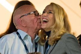 Rupert Murdoch y Jerry Hall se casan