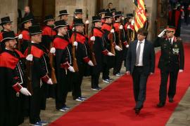 Puigdemont promete «fidelidad» a Catalunya y se olvida de la Constitución