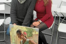 Cristina Ferrer recibe clases de Vladimir Volegov