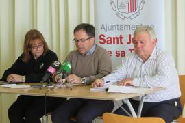 Sant Josep reducirá el próximo verano en un 10% el número de hamacas y sombrillas