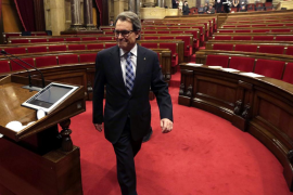 Artur Mas renuncia a su acta de diputado en el Parlamento catalán