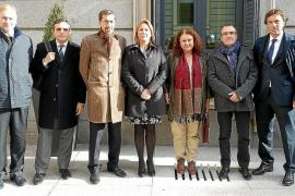 Jornada de estreno en Madrid