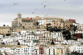 Los siete fortines que protegían Dalt Vila