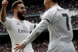 El Madrid de Zidane y la BBC golean al Sporting