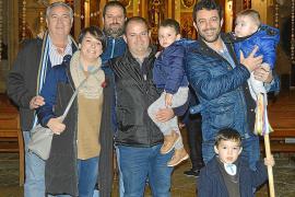 """Elección del """"clamater"""" de Sant Antoni en sa Pobla"""