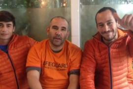 Los bomberos arrestados en Lesbos vuelven a España