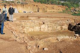 VÍDEO: Una alfarería romana amenaza el nuevo trazado de la carretera de Sant Joan