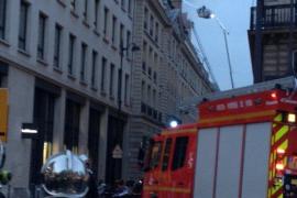 Incendio en el hotel Ritz de París