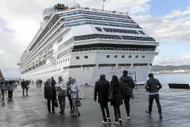 El puerto de Eivissa recibirá este año un 28,3% más de cruceros