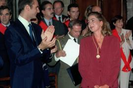 Barcelona inicia los trámites para retirarle la Medalla de Oro a la infanta Cristina