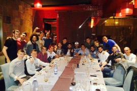 Los futbolistas del Real Madrid estrechan lazos y se conjuran en una cena
