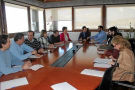 Medi Ambient mejorará la sujeción del emisario de Talamanca la próxima semana