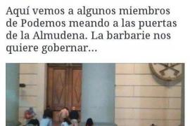 Antoni Camps la lía en Twitter al difundir un 'fake' de Podemos