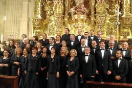 El Coro Parroquial de Santa Eulària triunfa en Burgos