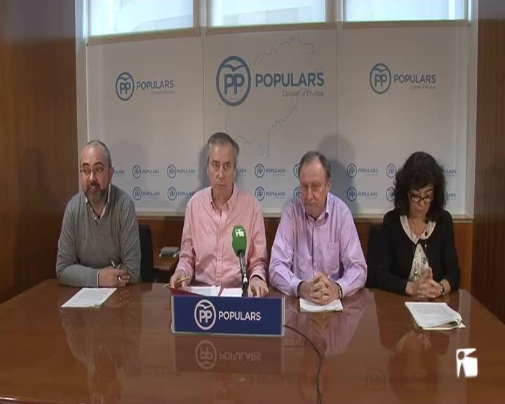 VÍDEO: El PP reclamará que Eivissa no acepte menos de un 20% en financiación turística