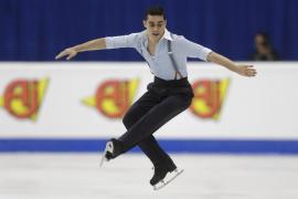 Javier Fernández logra su cuarto título europeo de patinaje artístico consecutivo