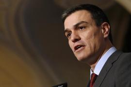 Sánchez exige a Rajoy que le deje formar gobierno si no quiere presentarse