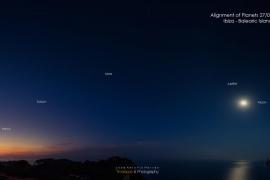 Una captura del ibicenco Hervás vuelve a protagonizar la imagen del día de la NASA