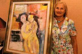 Sylvie Lerat dona 34 obras para una causa solidaria