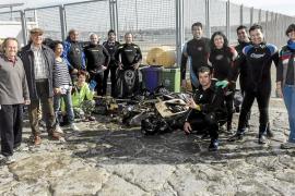 La campaña 'Sant Antoni net a fons' concluye con la retirada de media tonelada de residuos