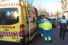 Muere un bebé de año y medio atropellado por un camión en Parla