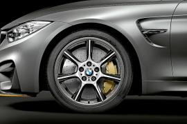 BMW M4 GTS, el primero con llantas de fibra de carbono