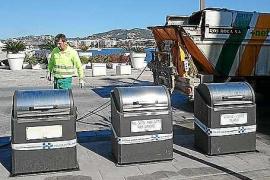 Veinte nuevos contenedores soterrados se ponen hoy en marcha en el puerto de Eivissa