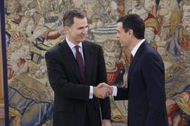 Sánchez expone al Rey la posición del PSOE ante el actual escenario político