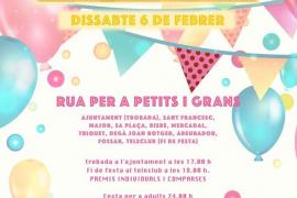Sa Rua 2016, una fiesta para pequeños y mayores en Sineu