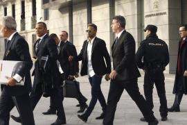 Neymar llega a la Audiencia Nacional para declarar por estafa en su fichaje
