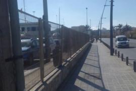 APB retirará mañana la valla situada en la zona de servicio del puerto de Eivissa