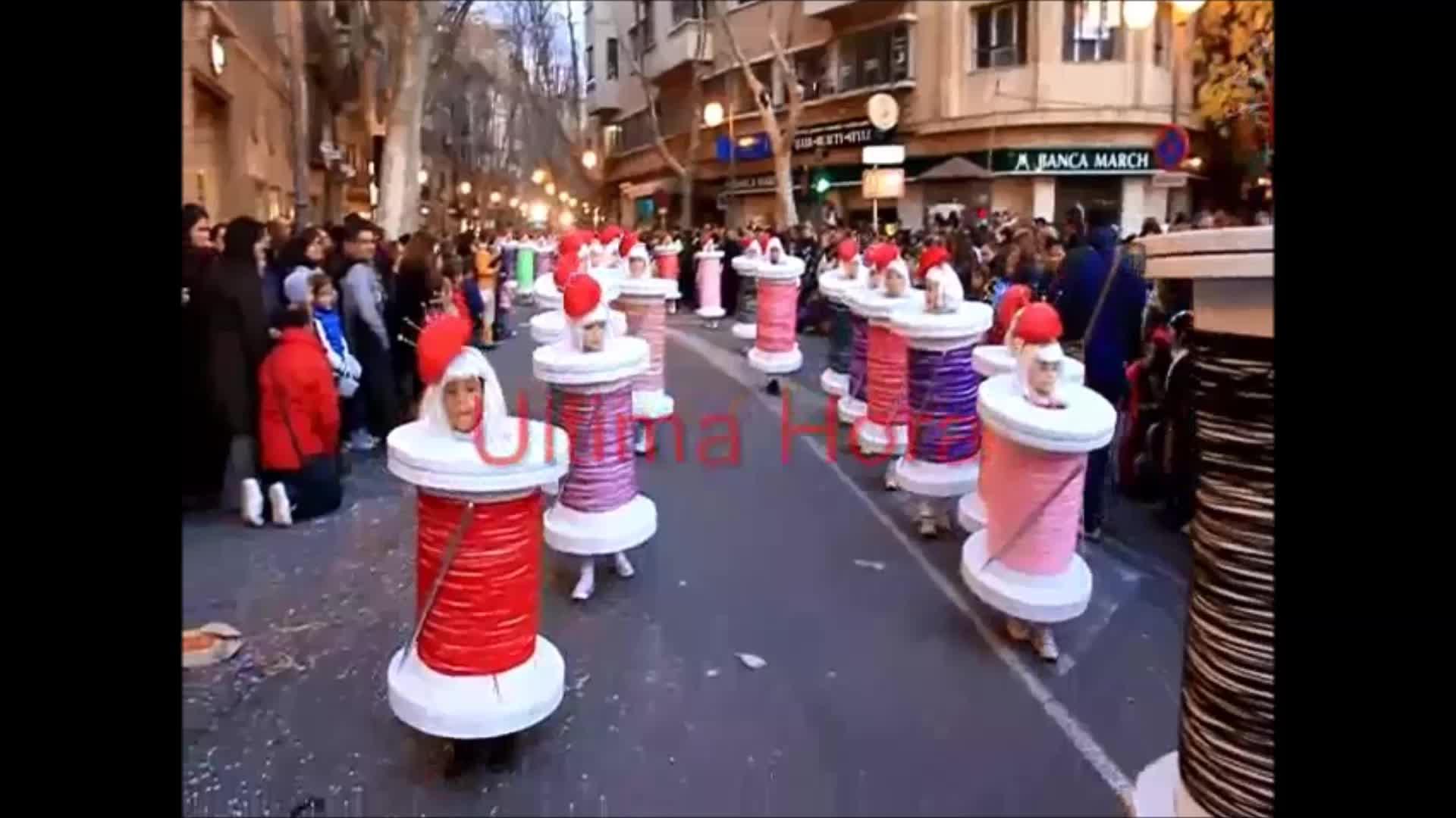 Un colorido carnaval 2016 inunda Mallorca